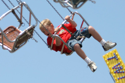 Image result for swing ride at the fair