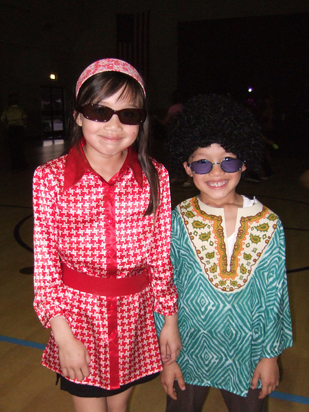70's Night at St. John's Lutheran School. (Image taken with FinePix F10 at ISO 800, f2.8, 1/100 sec and 8mm)