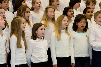 4th Grade Chorus (28 Feb 2008) (Image taken with Canon EOS 20D at ISO 800, f5.6, 1/80 sec and 70mm)