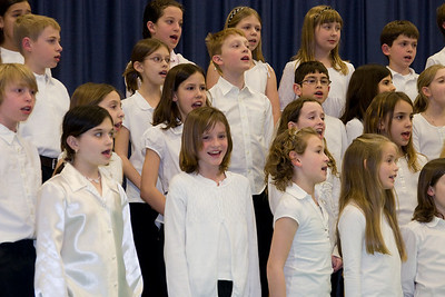 Taylor Elementary School 4th Grade Chorus (28 Feb 2008) (Image taken with Canon EOS 20D at ISO 800, f5.0, 1/60 sec and 53mm)