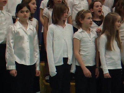 California Dreamin' by The Mamas & the Papas, as sung by the Taylor Elementary School 4th Grade Chorus