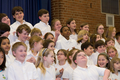 4th Grade Chorus (28 Feb 2008) (Image taken with Canon EOS 20D at ISO 800, f5.0, 1/60 sec and 70mm)