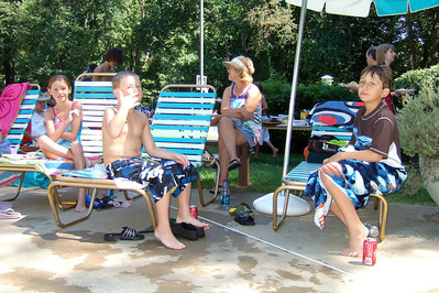 Sydney, Christopher and one of Christopher's friends, Brendan, enjoying a day of swimming and a Labor Day picnic at Donaldson Run Pool, which is just around the corner from the house. (Image taken with FinePix F10 at ISO 200, f2.8, 1/450 sec and 8mm)