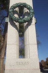 National World War II Memorial. (Image taken with FinePix F10 at ISO 200, f8.0, 1/800 sec and 8mm)