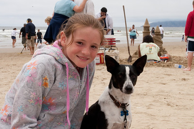 Sydney and Kanga at Pismo Beach (01 Aug 2009) (Image taken with Canon EOS 20D at ISO 400, f16.0, 1/640 sec and 36mm)