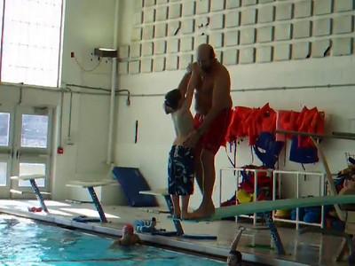 Christopher at Dive Practice (13 Dec 2008)