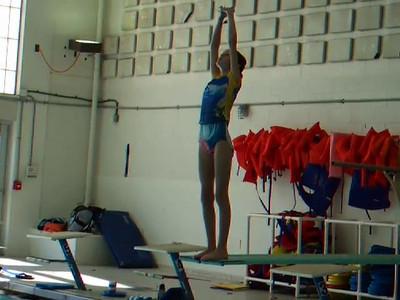 Sydney at Dive Practice (13 Dec 2008)