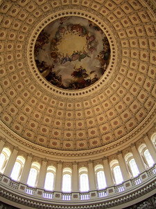 Capitol rotunda (06 Mar 2010) (Image taken by Patrick R. Kane on 06 Mar 2010 with FinePix F10 at ISO 400, f2.8, 1/180 sec and 8mm)