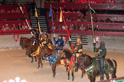 We enjoyed an 11th century-style dinner and show at Medieval Times (Image taken by Patrick R. Kane on 29 Aug 2010 with Canon EOS 20D at ISO 800, f4.5, 1/60 sec and 48mm)