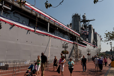USS Whidbey Island (LSD 41) in Baltimore's Inner Harbor (Image taken by Patrick R. Kane on 29 Aug 2010 with Canon EOS 20D at ISO 200, f11.0, 1/500 sec and 19mm)