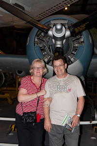 Gale and Ivan in the National Air and Space Museum (Image taken by Patrick R. Kane on 28 Aug 2010 with Canon EOS 20D at ISO 200, f4.0, 1/60 sec and 28mm)