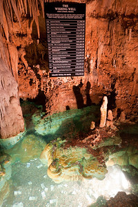 """""""The Wishing Well"""" inside Luray Caverns (Image taken by Patrick R. Kane on 15 Aug 2010 with Canon EOS 20D at ISO 200, f2.8, 1/6 sec and 15mm)"""