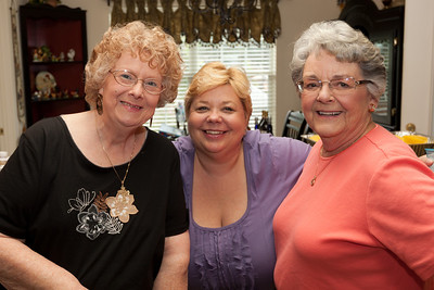 Myra, Cindy and Mary Clare celebrating Bill Kane's 80th birthday (Image taken by Patrick R. Kane on 10 Sep 2011 with Canon EOS-1D Mark III at ISO 200, f4.0, 1/60 sec and 26mm)