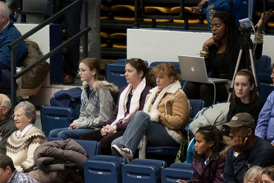 Sydney, Valerie and Kathy came to watch the Taylor Elementary School's 5th Grade Dance Team perform during half-time at the George Washington University and Richmond women's basketball game. The dancers did a great job. Unfortunately for the Colonials, they let their 35-30 advantage at half-time slip away in a 55-68 loss to the Spiders. (Image taken by Patrick R. Kane on 08 Jan 2011 with Canon EOS-1D Mark III at ISO 800, f2.8, 1/250 sec and 200mm)