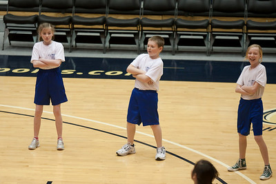 Lydia, Christopher and Lucy performing with the Taylor Elementary School's 5th Grade Dance Team during half-time at the George Washington University and Richmond women's basketball game. The dancers did a great job. Unfortunately for the Colonials, they let their 35-30 advantage at half-time slip away in a 55-68 loss to the Spiders. (Image taken by Patrick R. Kane on 08 Jan 2011 with Canon EOS-1D Mark III at ISO 800, f2.8, 1/500 sec and 160mm)