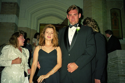 Ken Michon and his girlfriend, Yvette, at Dave and D'Anna's wedding.