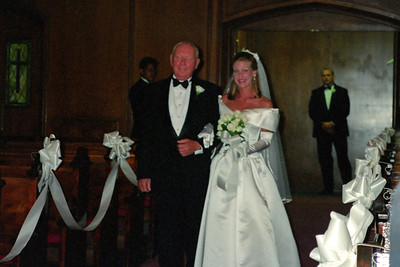 Dave and D'Anna's wedding.