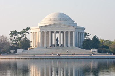 The Thomas Jefferson Memorial. This year's National Cherry Blossom Festival honors the 100-year anniversary of the gift of trees (Image taken by Patrick R. Kane on 23 Mar 2012 with Canon EOS 5D at ISO 100, f29.0, 1/15 sec and 145mm)
