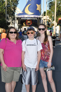 Aunt KK with Christopher and Sydney at Disney's Hollywood Studios