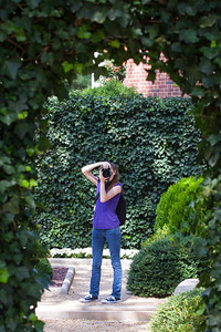 Sydney standing in the French Parterre of the Hillwood Estate, Museum & Gardens (Image taken by Patrick R. Kane on 29 Sep 2012 with Canon EOS-1D Mark III at ISO 100, f5.0, 1/80 sec and 75mm)