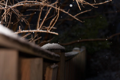 A light dusting of snow in early January (Image taken by Sydney J. Kane on 09 Jan 2012 with Canon EOS 20D at ISO 800, f4.0, 1/60 sec and 53mm)