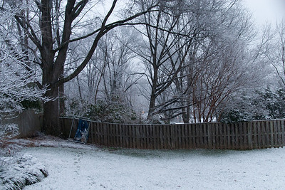 A light dusting of snow in early January (Image taken by Sydney J. Kane on 09 Jan 2012 with Canon EOS 20D at ISO 800, f2.8, 1/25 sec and 17mm)