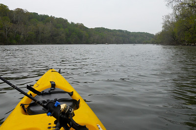 Kayaking on the Potomac River (Image taken by Patrick R. Kane on 04 Apr 2012 with COOLPIX S570 at ISO 80, f5.4, 1/400 sec and 5mm)