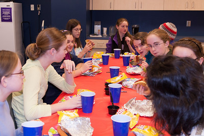 Sydney's 14th Birthday Party at Kettler Capitals Iceplex. This year, she decided that instead of gifts, everyone would give her money to donate to Gulf Branch Nature Center where she volunteers every week. In total, $220 was raised. (Image taken by Kathy T. Kane on 07 Jan 2012 with Canon EOS 20D)