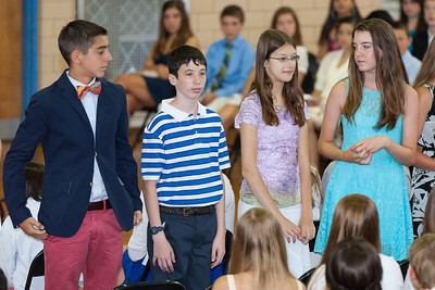 Sydney's friend, Meredith. 8th Grade Promotion at Williamsburg Middle School (Image taken by Patrick R. Kane on 21 Jun 2012 with Canon EOS 5D at ISO 400, f2.8, 1/125 sec and 168mm)