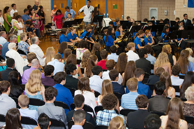 8th Grade Promotion at Williamsburg Middle School (Image taken by Patrick R. Kane on 21 Jun 2012 with Canon EOS 5D at ISO 400, f2.8, 1/100 sec and 70mm)