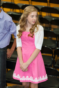 Sydney's friend, Elana. 8th Grade Promotion at Williamsburg Middle School (Image taken by Patrick R. Kane on 21 Jun 2012 with Canon EOS 5D at ISO 400, f2.8, 1/125 sec and 145mm)