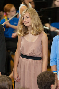 Sydney's friend, Lindsay. 8th Grade Promotion at Williamsburg Middle School (Image taken by Patrick R. Kane on 21 Jun 2012 with Canon EOS 5D at ISO 400, f2.8, 1/125 sec and 200mm)