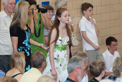 Sydney. 8th Grade Promotion at Williamsburg Middle School (Image taken by Patrick R. Kane on 21 Jun 2012 with Canon EOS 5D at ISO 400, f2.8, 1/125 sec and 200mm)