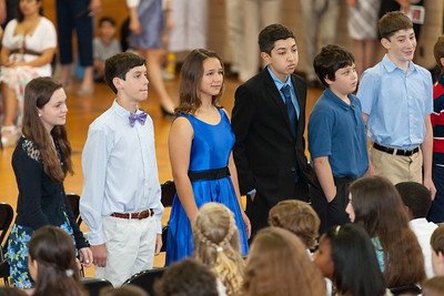 Sydney's friend, Savannah. 8th Grade Promotion at Williamsburg Middle School (Image taken by Patrick R. Kane on 21 Jun 2012 with Canon EOS 5D at ISO 400, f2.8, 1/80 sec and 200mm)