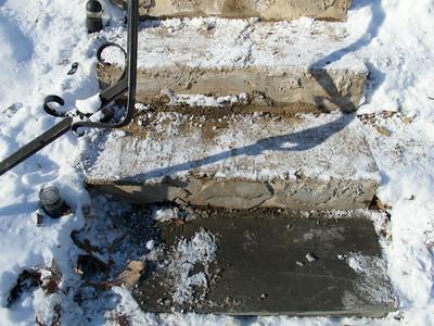 Front Steps (03 Jan 2014)