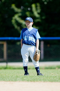 The Arlington Little League Bandits 9-yr old team wins a 10-3 scrimmage over Mason District Little League in fall ball. Bandits vs Mason (20 Sep 2009) (Image taken by Patrick R. Kane on 20 Sep 2009 with Canon EOS-1D Mark II at ISO 100, f2.8, 1/800 sec and 300mm)