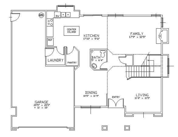 2611 Woodside Place 1st Floor