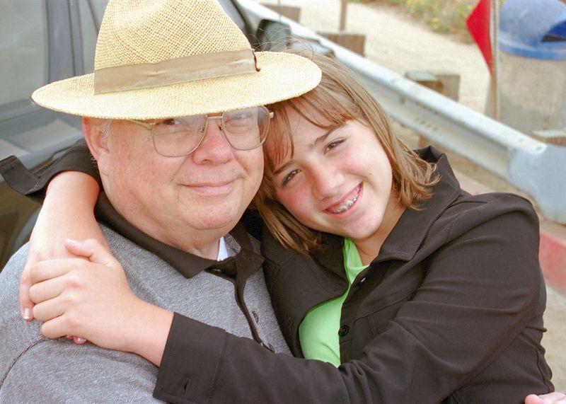 Brittany and Grandpa -- 3