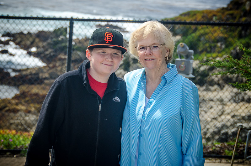 3.13.13 - Images from Connor's Visit with Aunt Pat