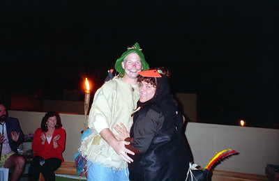 Kevin and Nora Mitchell. It was a surprise 30th birthday/Halloween party for Patrick Kane at his and Kathy's condo, 2722 Wendy Place, Port Hueneme, California, Oct/Nov 1994