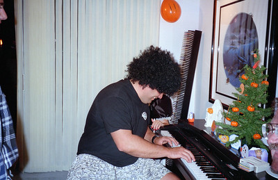 Dave Eggers. It was a surprise 30th birthday/Halloween party for Patrick Kane at his and Kathy's condo, 2722 Wendy Place, Port Hueneme, California, Oct/Nov 1994