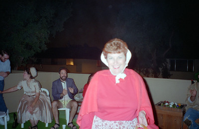Barb. It was a surprise 30th birthday/Halloween party for Patrick Kane at his and Kathy's condo, 2722 Wendy Place, Port Hueneme, California, Oct/Nov 1994