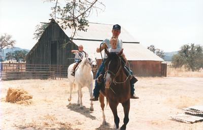 Visiting the Roth's, circa summer 1994