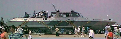 The Navy Seal's Mark 5 Special Operations Craft at the 1998 DOD Joint Services Open House at Andrews Air Force Base.