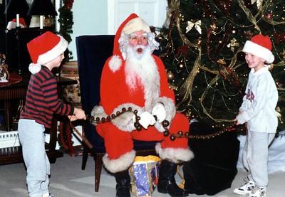 """Jingle bells, jingle bells, jingle all the way."""