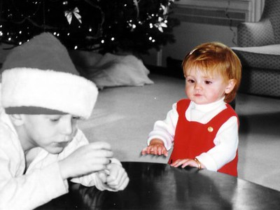 Sydney Jean Kane at the Kennedy-Warren's children's Christmas party.