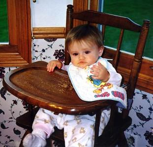 Sydney Jean Kane at her grandparent's home in Fort Collins CO
