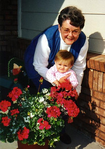 Sydney Jean Kane with Grandma, Mary Clare Kane