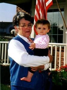 Sydney Jean Kane with Grandma enjoying the beautiful Colorado weather