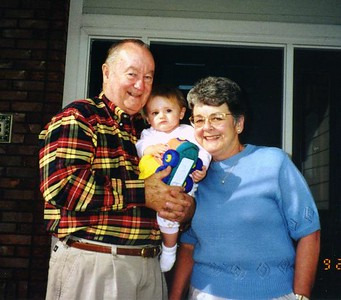 Grady and Mary Clare with their granddaughter, Sydney Jean Kane